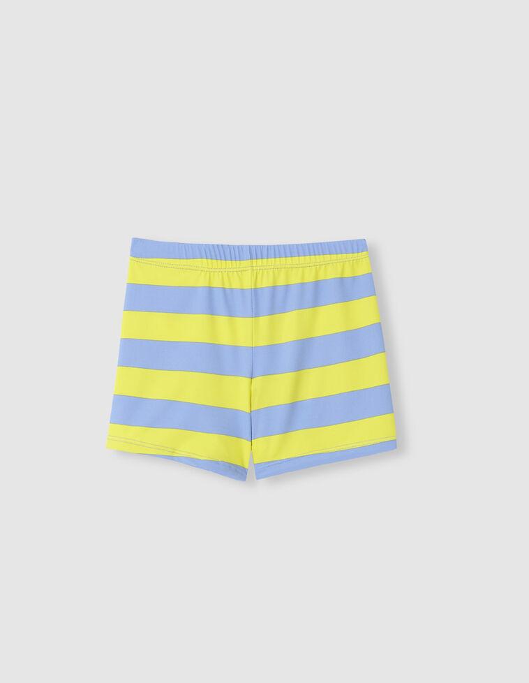 Bóxer rayas amarillo azul