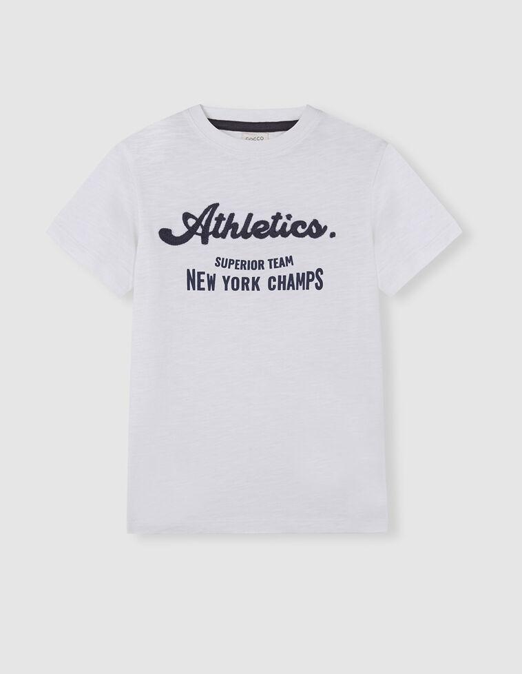 Camiseta athletics blanca