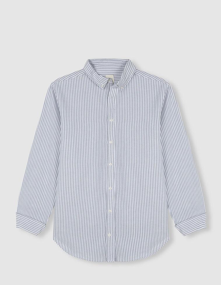 Camisa oxford de rayas