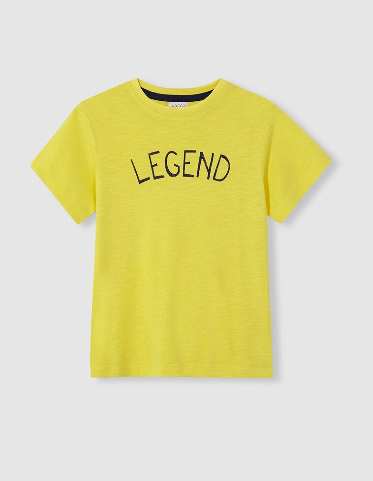 Camiseta legend amarilla