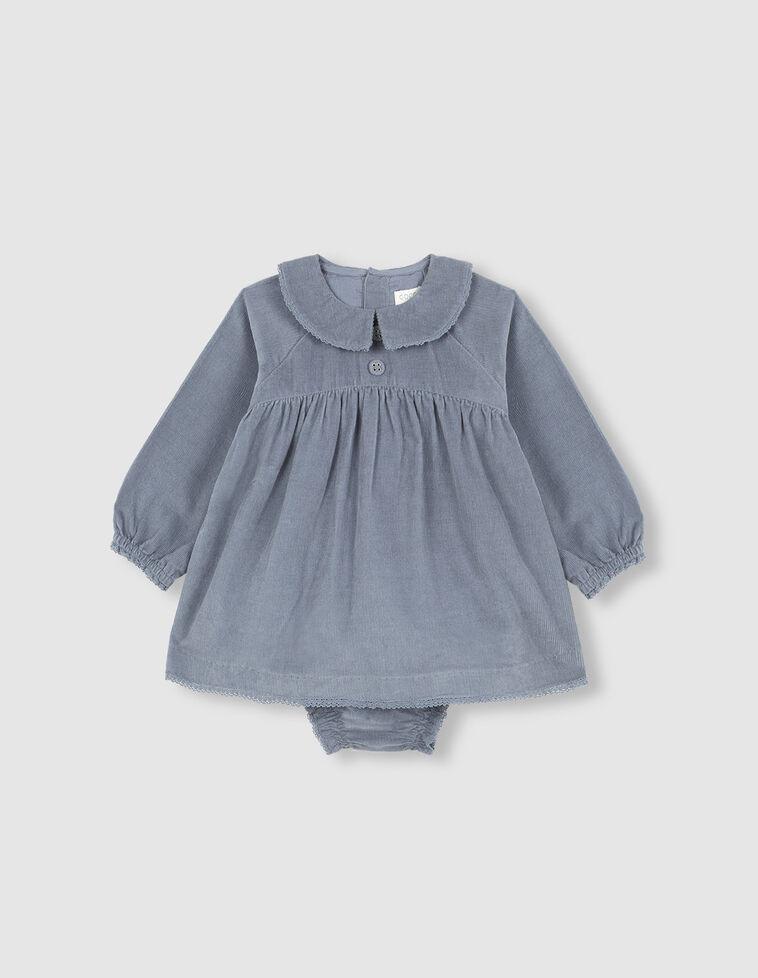 Vestido manga larga micropana