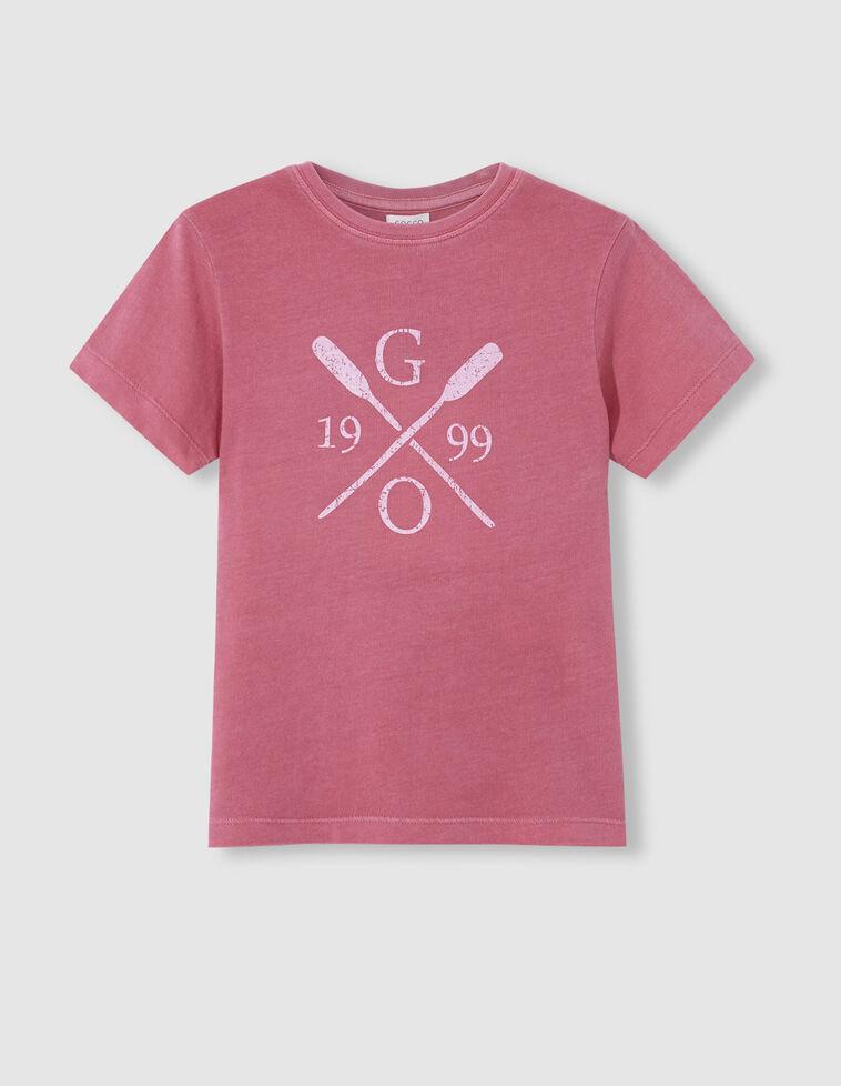Camiseta remos fresa