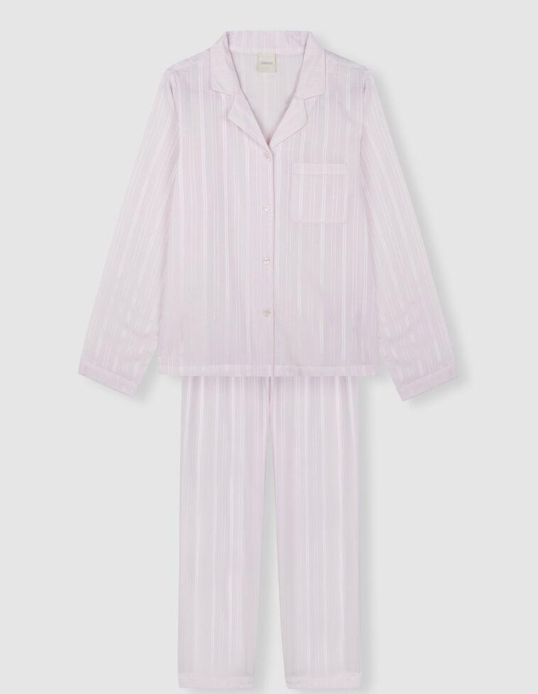 Conjunto pijama rosa