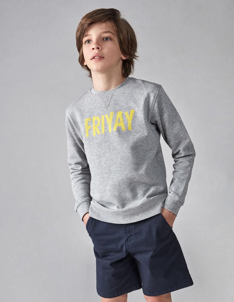 Sudadera friyay gris