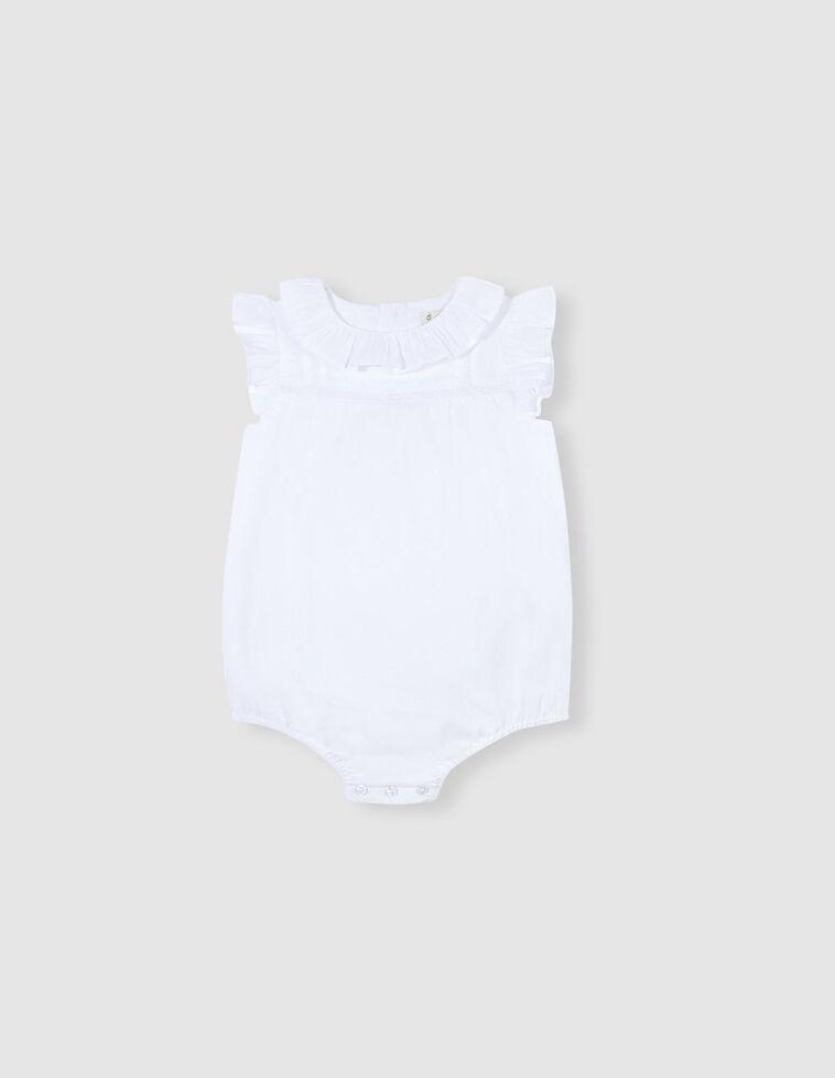 Camisa body plumeti blanca