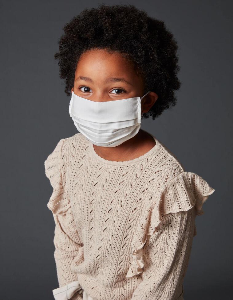 Mascarilla infantil 10-12 años reutilizable sostenible