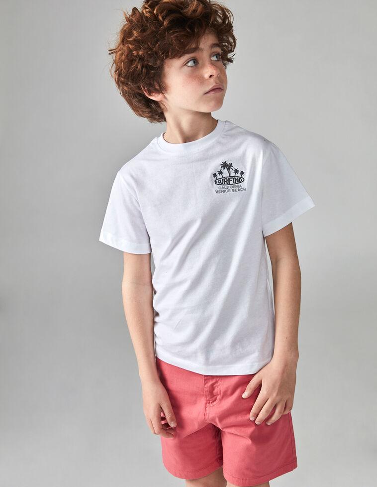 Camiseta surf blanca