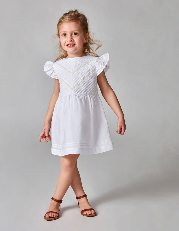 Vestido jaretas blanco